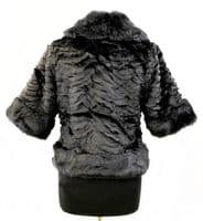Handbag Bliss Faux Fur Shawl / Wrap/Cape/Cover Up
